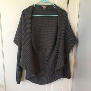 Drapey grey sweater